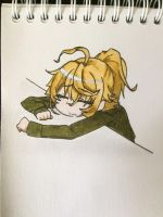 Tanya Degurechaff is tired from the war and idiots by lulukan