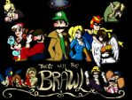 There Will Be Brawl by SaintsSister47