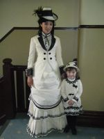 Victorian Bustle and Childrens by bridget-aus