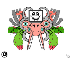 Undertale Designs - Omega Flowey by hotcheeto89