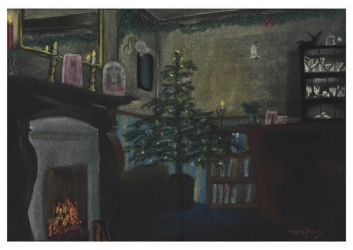 Christmas Room by marcony