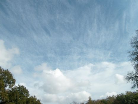 Clouds - 1 by Ironhold