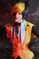 Gravity falls - Bill Cipher cosplay - 10 by Dokura-chan