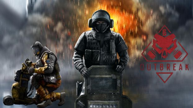 Rainbow Six Siege Lion and Blizt by LordMaru4U
