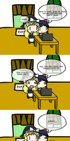 What marisa and Reimu Found on the internet... by trynt33