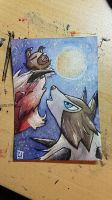 ATC// Rockruff Moon for Urocyon-fox by tguillot