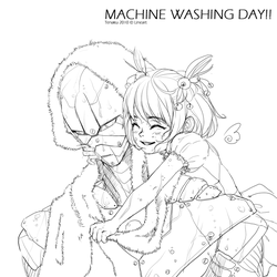 Preview - MACHINE WASHING DAY by tenaku