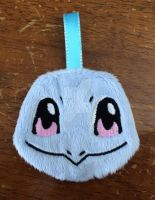 Squirtle 3'' Pokemon Plush Keychain! Patron Reward by GuardianEarthPlush