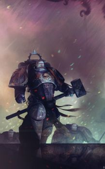 Spacemarine fanart by bradwright
