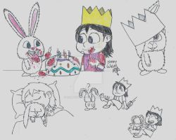 the Secret Life of Pets - Snowball and Molly by CelmationPrince