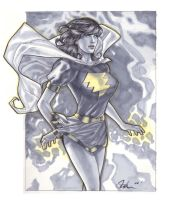 Mary Marvel Markers by TyRomsa