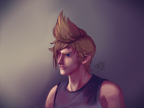 Prompto - Unfinished Release by TheDoctorArtist