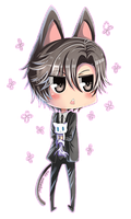 Mystic Messenger: Neko Jumin - chibi version by rairy