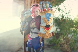 Vi - League of Legends by ThelemaTherion