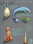 Flora and Fauna of Azzran by aireona93