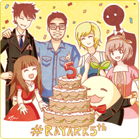 #Rayark5th by Kikansha