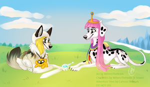 Adventure Time canines by MittensTheNoble