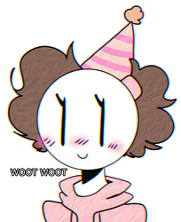 IT'S MY BIRTHDAY TODAY DUDES by butterdcreamcake