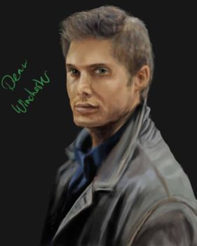 Dean Winchester by Isashadow