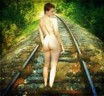Waiting for crazy train by TrattoScatto