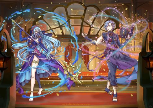 Fire Emblem Heroes Performing Arts (Fates) by norinoko