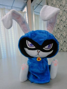 Bunny Raven by Cryptic-Enigma
