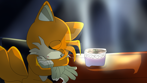 Tails X Cosmo- I'll Wait For You to return by Absolhunter251