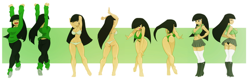 Kuki Sanban - All Grown Up by Bigdad by Evil-Count-Proteus