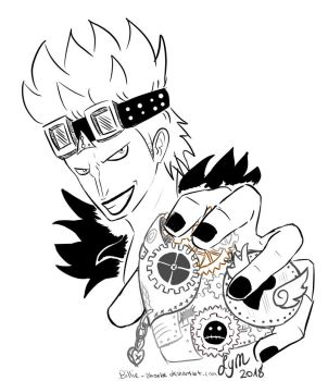 Eustass Captain Kid by Billie-phoebe