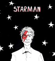 Starman by AriaDog