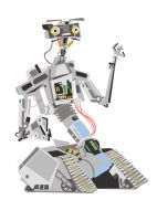 johnny 5 is alive by speedball0o
