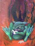 Naughty Old Toad by askoi