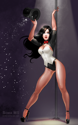 Commission: Zatanna by SoniaMatas