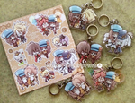 Code: Realize Acrylic Keychain and Sticker by Kirara-CecilVenes