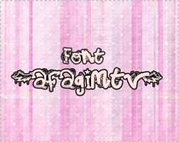 font by beluuchi