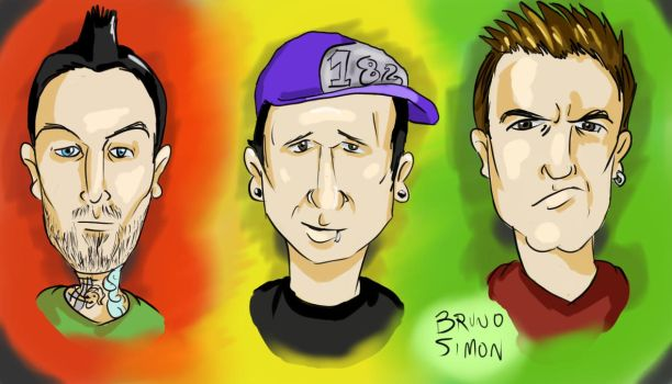 Blink 182 by brusife