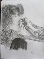 Mitch Lucker by mgGaze