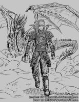 Request - Black Dragon by zeth3047