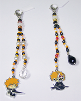 Bleach Beaded Fobs by jordannamorgan