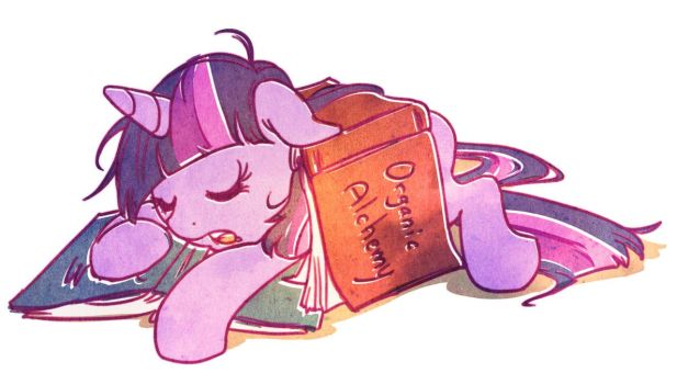 Late Night Studies by ButtercupBabyPPG