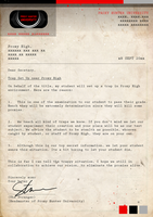 PH Official Comic - Letter from PHunter University by UmmuVonNadia