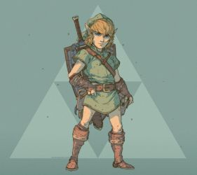 Link - A Link to the Past - Concept by DaveRapoza