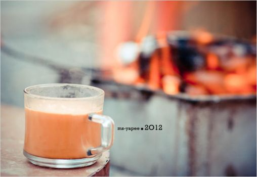 Cup Of Tea .  .  . by Ms-pieces