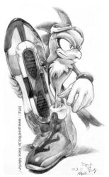 Jet The Hawk by manaita