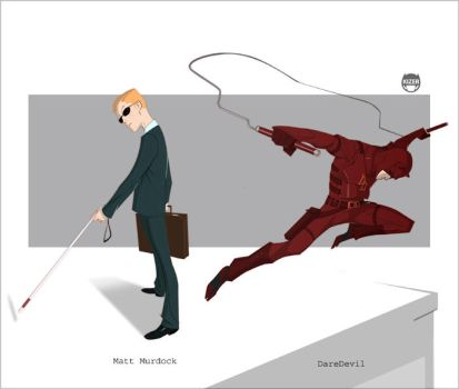 Matt....DareDevil by CoranKizerStone