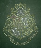 Coat of Arms of Hogwarts by Azdaracylius