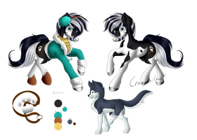 Tundra and Icicle (Reference Sheet Commission) by Crazyaniknowit