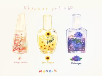 flower polish by mano-k