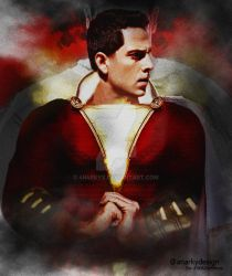 Poster: Shazam | Alex Ross Recreation by 4n4rkyX
