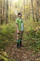 Jake English cosplay - unity of boy and nature by Dead-Batter